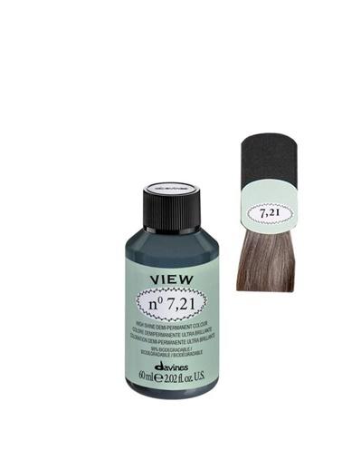 Davines Davines View Yarı Kalıcı Saç Boyası 7,21 Kumral Irize Küllü 60 Ml Renksiz